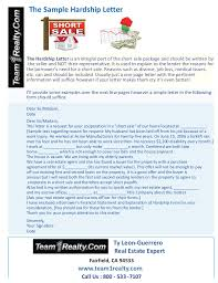 sample hardship letter for a short sale ty leon guerrero of team1real u2026