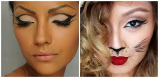 halloween makeup eyes simple cat eye makeup dramatic cat eye tutorial with optional