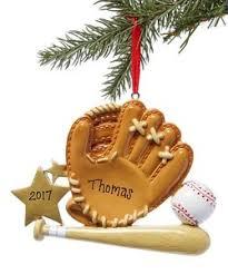 general sports baseball softball treasured ornaments