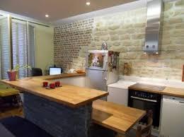 cacher une cuisine ouverte aménager une cuisine ouverte aménagement de cuisine