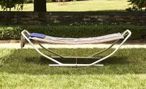 garden oasis folding hammock