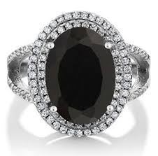 black gemstone rings images 5 beautiful black onyx rings for women jpg