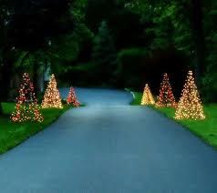 pre lit 5 u0027 fold flat outdoor christmas tree by lori greiner page