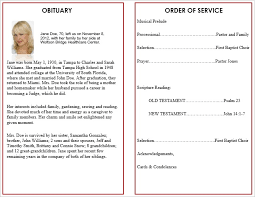 10 best images of free funeral program card templates funeral