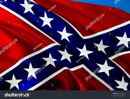 Civil War Rebel Flag Waving Confederate Flag 3d Renderingoriginal Confederate