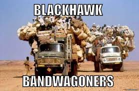 Blackhawk Memes - chicago blackhawk bandwagon meme