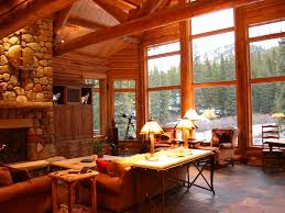 ski lynx lodge featured in log home design homeaway