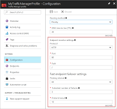azure traffic manager endpoint monitoring microsoft docs