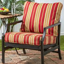 Deep Seat Patio Cushion Greendale Home Fashions Deep Seat Cushion Set Roma Stripe For Deep