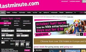 website of the week www lastminute daily mail