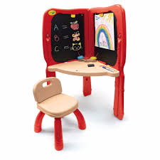 Study Desk For Kids by Crayola Kids Arts Drawing Painting Chalkboard Studio Study Desk