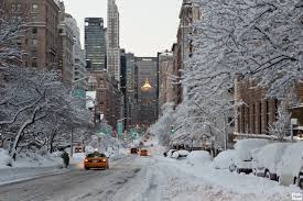beautiful cities in usa winter in new york city photo mood
