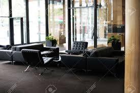 meubles modernes design intérieur hall d u0027hôtel de luxe avec des meubles modernes banque d