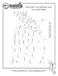 Blank United States Map by Coloring Pages Archives Page 4 Of 4 Surviving The Oregon Trail