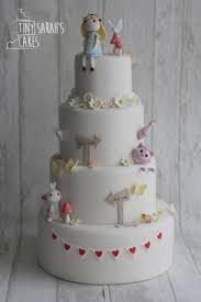 Wedding Cake Wonderland Wedding Alice In Wonderland Cake Cat