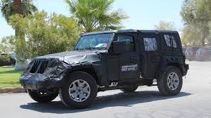 jeep wrangler pickup spotted testing 2018 jeep wrangler u2013 spy phots emerged automotorblog