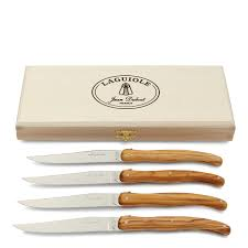 laguiole kitchen knives dubost laguiole knives set of 4 bloomingdale s