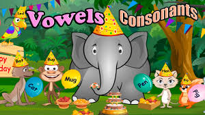 children u0027s vowels consonants and rhyming words abc alphabet