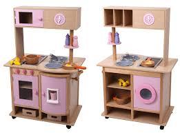 spielküche holz mentari küche aus holz beidseitig bespielbare rosa kinderküche