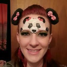 panda face painting design face paint pinterest face