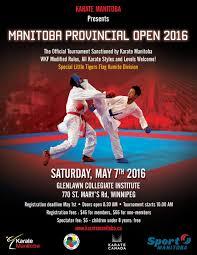 Manitoba Flag Upcoming Events Manitoba Provincial Open Karate Manitoba