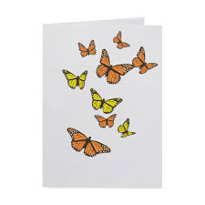 Color Up Fluttering Butterflies Pop Up Note Card Moma Design Store