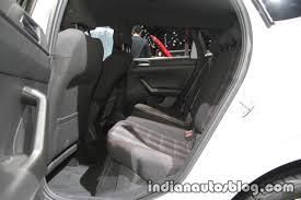 2018 vw polo gti rear seats at the iaa 2017 indian autos blog