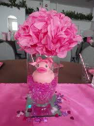 Centerpiece For Table by Water Gems Ordered From Ebay Vases And Mirrors From Dollar Store