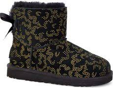 ugg bailey bow black sale ugg mini bailey bow ii free shipping free returns