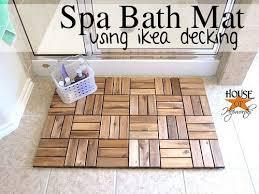 Zen Bath Mat These 7 Ikea Hacks Will Upgrade Your Entire Apartment Bath Mat