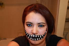 Big Mouth Halloween Makeup Practicing My Makeup For My Costume What Do You Think Doberman