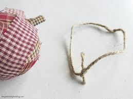 diy homespun fabric ornament 4 different tutorials