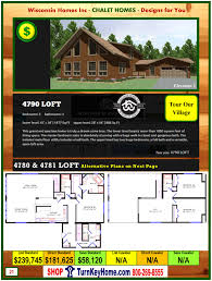 chalet modular home prices from wisconsin homes inc chalet and modular home catalog wisconsin homes inc chalet loft