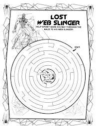 spider man 30 coloringcolor com