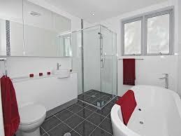 Bathroom Design With Freestanding Bath Using Tiles Bathroom - Modern tiles bathroom design
