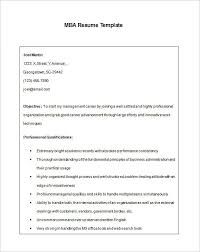 Mba Application Resume Examples by Free Resume Templates Word Cyberuse