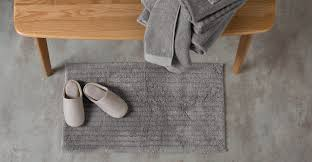 alto 100 cotton bath mat elephant grey made com alto