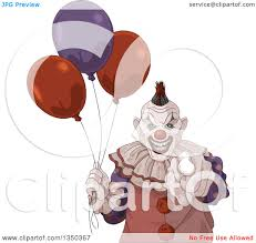 scary halloween clipart clipart of a scary halloween clown pointing at the viewer and