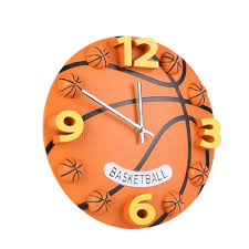 online buy wholesale basketball wall clock from china basketball