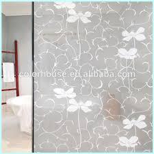 frosted waterproof glass shower door decorative film buy shower