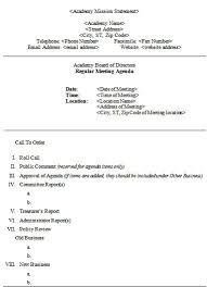 205 professional meeting agenda templates demplates