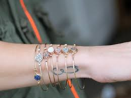 stacking bracelets druzy stacking bracelets saressa designs