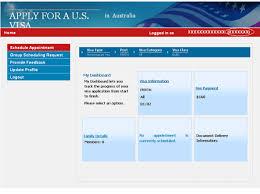 Apply for a u s visa travel coordinator australia english