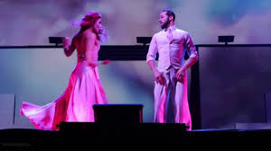 dwts light up the night tour dwts light up the night tour sharna artem youtube