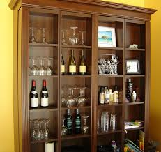 Bookcase Murphy Bed Murphy Beds Bifold Bookcase Bed Autumn Cherry More Spac U2026 Flickr