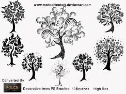 decorative trees 461 brushking
