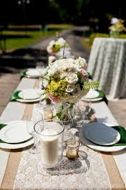 burlap and lace table runner lace table runners ideas u2013 home
