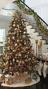 How To Decorate A Large Christmas Tree - top 40 christmas entryway decoration ideas christmas celebrations