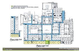 high school floor plans pdf johnston schools bond 2013 materials media