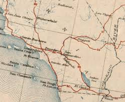 Map Of Riverside County The Lost U S Highways Of Southern California History Kcet